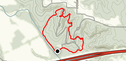 Graham Cave Loop Trail Map