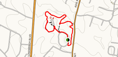 St Louis County McDonnell Park Trail Map