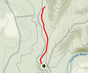Welch Spring Trail Map