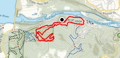 White River Blue Trail Map