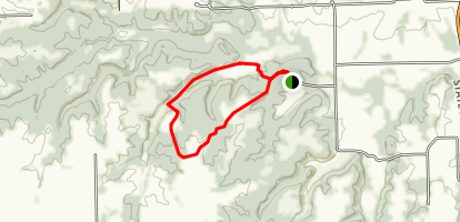 Bunker Hill and Wind Pump Holler Loop Map
