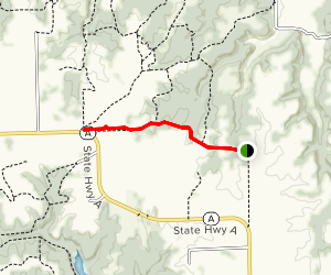 Dockery Cemetery Trail Map