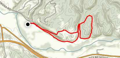 Ponderosa Trails Map