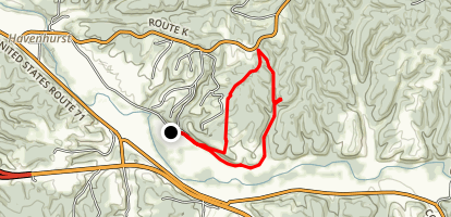 Ponderosa Trail Alternate Loop Map