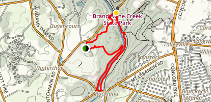 Brandywine Creek River Loop Map