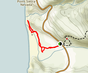San Carpoforo Creek Trail Map