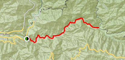 Azusa Canyon Fire Map.Cattle Canyon Trail California Alltrails