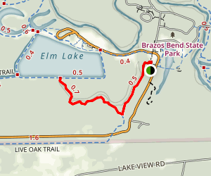 Pliant Slough Trail Map