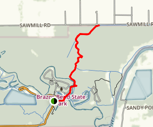 Bayou Trail Map