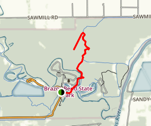 Creekwood Lake Trail Map