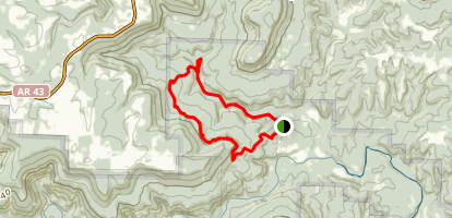 Cecil Cove Loop Trail Map