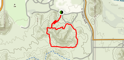 Baseline Trail Map