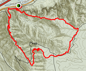 Rock of Ages and Horsetail Creek Loop Trail Map