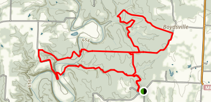 Cedar Creek Trail System Map