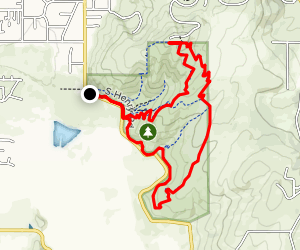 Saltese Uplands Trail Map
