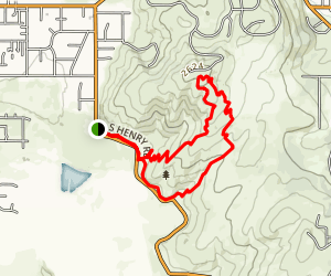 Uplands Loop: Short Draw, Summit and Turtle Gulch Trails Map