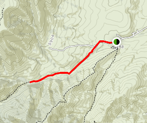 South Fork of Gibson Jack Trail Map