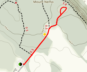 Mount  Nemo Quarry Hike Map