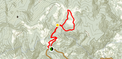 Appalaichian Trail to Scales Trail Loop Map