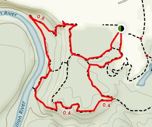 Red River Trail Map