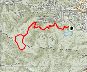 Grindstone Mesa Loop Map