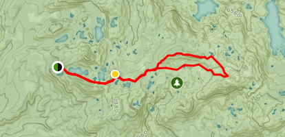 Sand Ridge and the Five Lakes Basin Map