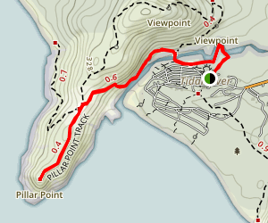 Pillar Point Track Map
