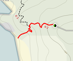 Picnic Bay Track Map