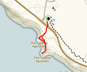 Twelve Apostles Overlook Map