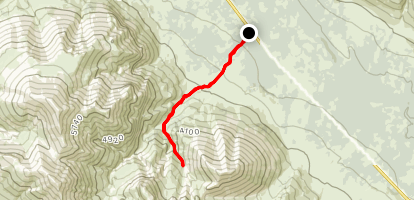 Skookum Volcano Trail Map