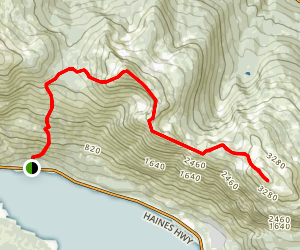 Mount Ripinsky and 7 Mile Saddle Trail Map