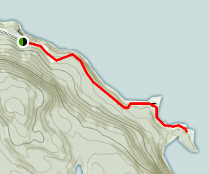 Battery Point Trail Map
