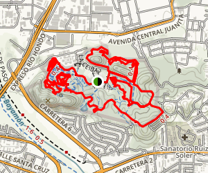 Monagas MTB Trail Map