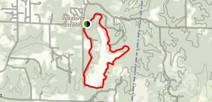 Lake Lowndes Loop Trail Map