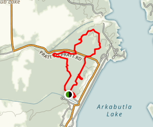 North Outlet Nature Trail Map