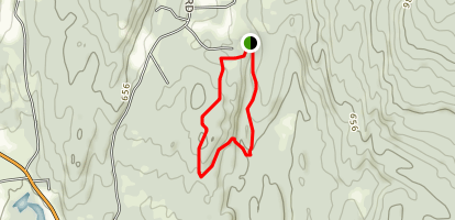 Stissing Mountain Northeast Loop Map
