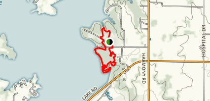 Hillsdale Lake Loop Trail Map