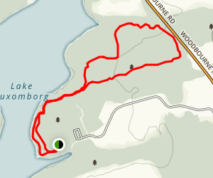 Maple Point Loop Map