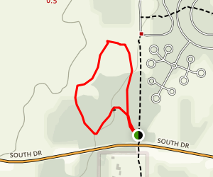 White Tailed Deer Trail Map