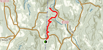 Appalachian Trail: Hoyt Road to Bull's Bridge Map
