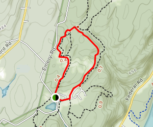 Scenic Gorge Trail Map