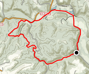 Yellow River Paint Creek Loop Trail Map