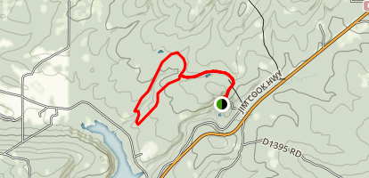 Cattail Pond Loop Trail Map