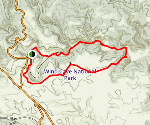 Lookout Point Trail and Centennial Trail Loop Map