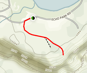 Dinosaur National Monument Echo Park Campground Trail Map