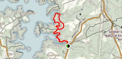 Ward Trail Map