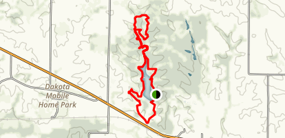 Lake and Valley View Trail Loop Map