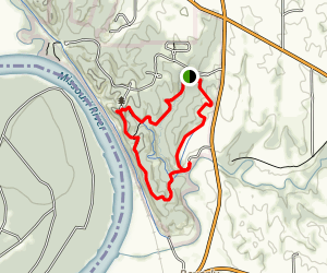 Harpst and West Ridge Trails Map