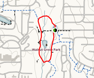Walnut Grove Park Trail Map