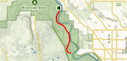 Centennial Trail West Map